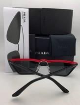 Prada Sunglasses Catwalk Spr 64U ZVN-4O0 67-16 140 Gold w/ Brown+ Silver Mirror - $439.95