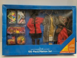 Playskool Fashion Doll 3 Outfits 100 Pc Shoes Accessories Vintage 1994  - $49.50