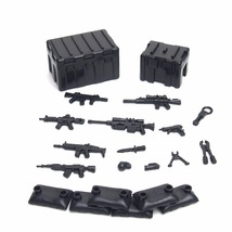 City MOC Military Weapons Pack Army Soldier SWAT Police Fit Lego Buildin... - $11.99