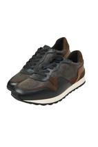 Coach Mens C142 Mahogany Brown Signature Low Top Runner Sneakers Sz 10 D... - $215.82