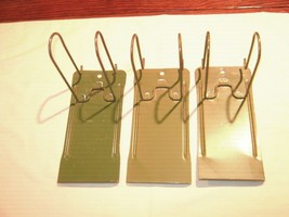 Rx, Pharmacy, Prescription Metal Filing Holders, Lot of 3 - $45.00