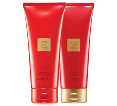 Avon Little Red Dress 6.7 Fluid Ounces Body Lotion + Shower Gel Duo Set - $21.54
