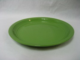 "Mainstays Green Stalk Dinner Plate 10.75""  Embossed Rings Color Creations - $9.46"