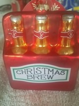 Christmas Brew 6 pack Christmas Ornament upc 719283126276 - $39.48