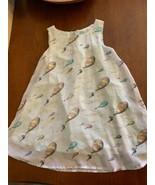 W1 Dr Seuss Dress - Girls Size 4T - Oh The Places You'll Go Theme - 2 La... - $24.74