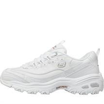 Skechers Femmes D' Lites Frais Début Chaussures Cuir Blanc - $145.54