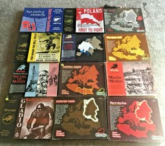 HUGE GDW EUROPA WAR GAME LOT of 12 Games: Scorched Earth, Fire in East, ... - $2,475.00