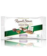 Russell Stover Sugar-Free 3-Flavor Mix Laydown Bag 10 Ounce Russel Stove... - $24.49