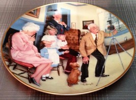 """Gorham Fine China 24kt. Gold Banded """"Family Portrait"""" Collector Plate - $9.80"""