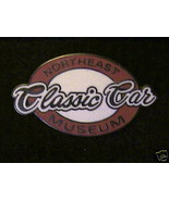 NORTHEAST CLASSIC CAR MUSEUM COLLECTIBLE OLD RARE  PIN - $14.25