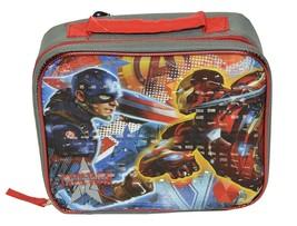 Marvel Avengers Captain America-3 Civil War Boys Lunch Bag - $9.85