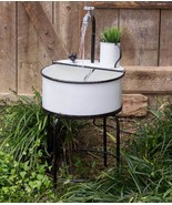 Farmhouse new electric Outdoor Garden Sink Fountain  - $199.99