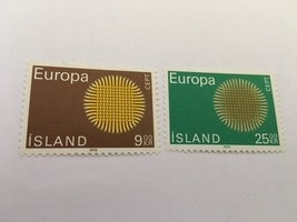 Iceland Europa  mnh 1970   #ab    stamps - $2.60