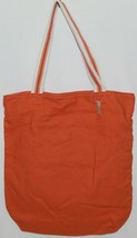 American Eagle Outfitters 7488 AE Everyday Tote Magnetic Closure Color Orange image 2