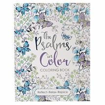 """The Psalms in Color"" Inspirational Adult Coloring Book [Paperback] Chri... - $25.74"