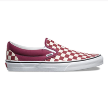 Vans Classic Slip On (Checkerboard) Dry Rose White Skate Shoes Mens Size... - $59.95