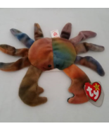 TY Beanie Babies Claude Crab Eye Sewn Wronge PV... - $3,500.00