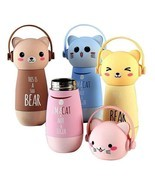 Cartoon 260ml Stainless Steel Thermos Vacuum Flasks Thermocup Bottle For... - £16.18 GBP