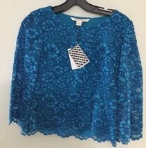 Diane von Furstenberg NEW Black Womens Size 2 Lace Krishna Blouse $298 249 - $123.84
