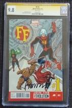 Fantastic Four FF1 Signed Matt Fraction Cgc Signature Series 9.8 - $147.00