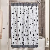 InterDesign SophistiCat Fabric Shower Curtain for Master, Guest, Kids', ... - $14.34