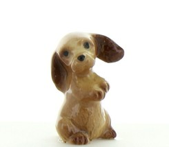 Hagen Renaker Miniature Dog Cocker Spaniel Pup Begging Ceramic Figurine
