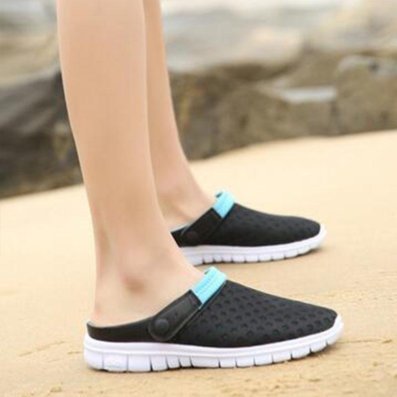 493d35ec7a8747 2018 Summer Sandals Shoes Men Ventilative Slippers Brand Men's Casual Shoes  Unis