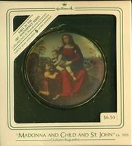1984 - New in Box - Hallmark Christmas Keepsake Ornament - Madonna & Child - $3.95