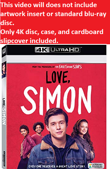 Love, Simon (4K Ultra HD)