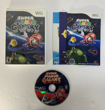 Super Mario Galaxy (Nintendo Wii, 2007) Very Good CIB Free Shipping - $22.00