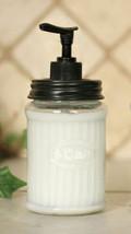 Country HOOSIER SOAP DISPENSER Farmhouse Primitive Rustic Bathroom Kitch... - $29.99