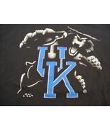 NCAA Kentucky Wildcats  College University School Fan Black T Shirt Fits... - $17.36