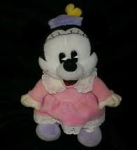 "10 "" Vintage Gund Disney Minnie Mouse Animal en Peluche Jouet Poupée Old Looking - $23.01"