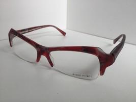 New ALAIN MIKLI AL10240212 10240212 56mm Red Marble Eyeglasses Frame France - $139.99
