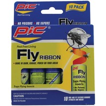 PIC FR10B Fly Ribbon Bug & Insect Catcher, 10 pk - $21.02