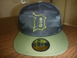 DETROIT TIGERS NEW ERA 59FIFTY 2018 MEMORIAL DAY ON FIELD FITTED HAT SIZ... - $27.99