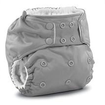 Rumparooz One Size Cloth Pocket Diaper Snap, Platinum