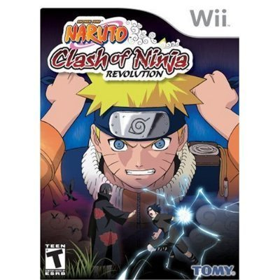 Naruto Clash of Ninja Revolution Nintendo Wii Video Game New