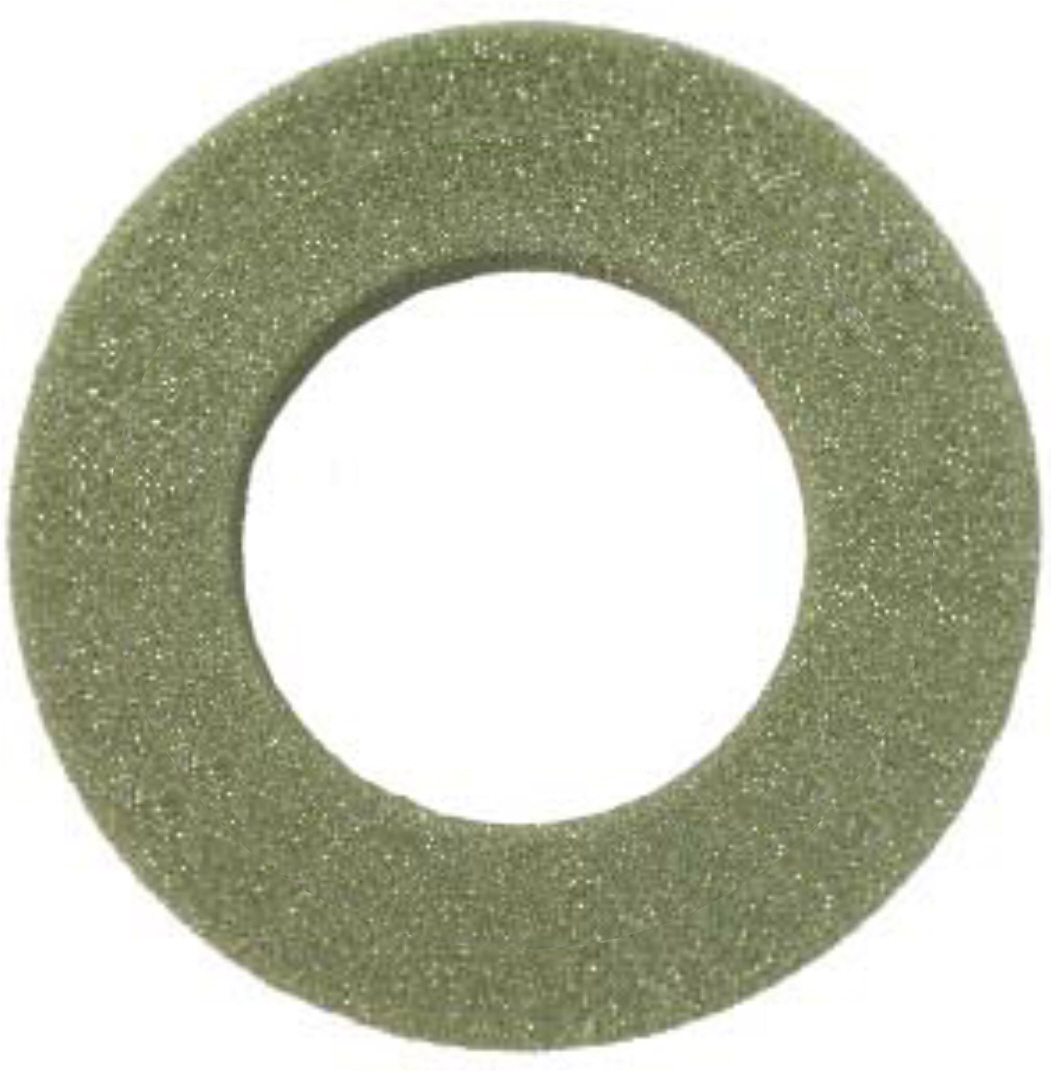 Styrofoam Green Wreath Rings 12 in. x 2 in. with 7 in. hole