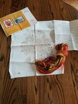 Vintage Creative Circle Crewel Needlepoint Kit 603 Wildwood Bouquet New ... - $11.68
