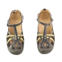 Jambu Terra Fusion Design Black Sport Water Trail Sandals Shoes Vegan Womens 10 - $29.52