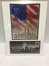 September 11 Heroes USA First Day of Issue US Constitution NYC Skyline - $29.69