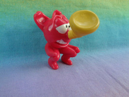 Vintage 1993 Disney Burger King Bonkers Toots Red Devil Yellow Horn Nose Figure - $2.23