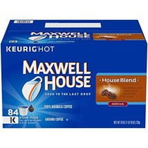 Maxwell House House Blend K-Cup Coffee Pods, 84 ct Box - $70.22