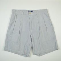 Polo Ralph Lauren Casual Seersucker Tyler Shorts Striped Blue White Men's 35 - $21.59