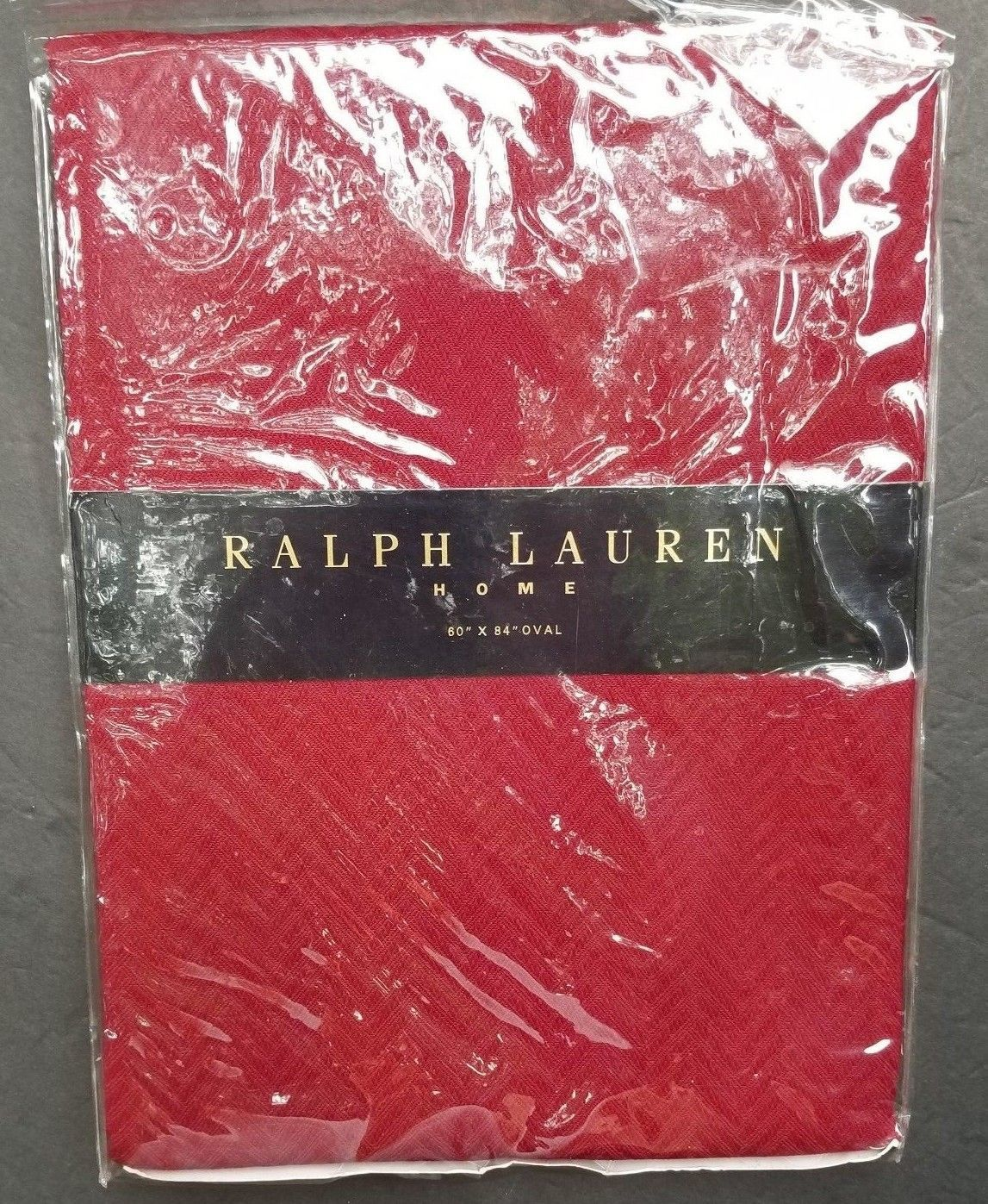 Primary image for Ralph Lauren Oval Tablecloth 60 x 84