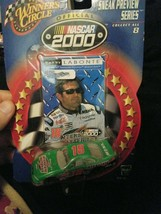 Nascar 2000 Terry Labonte Winners Circle Car & Card - $25.99