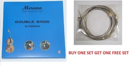 Merano 1/8,1/10 Upright Double Bass String Set + Buy One Get One FREE  - $59.00