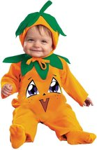Lil' Punkin Pie Toddler Costume 12-18 Months Disguise Tiny Treats NEW Pu... - £8.93 GBP