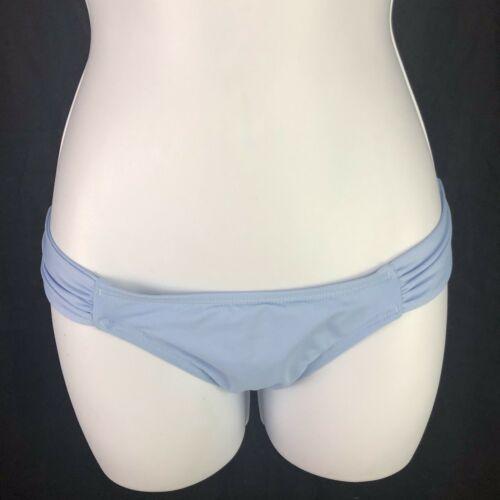 L Space Monique Side Ruched Bikini Swim Bottoms Womens L Large